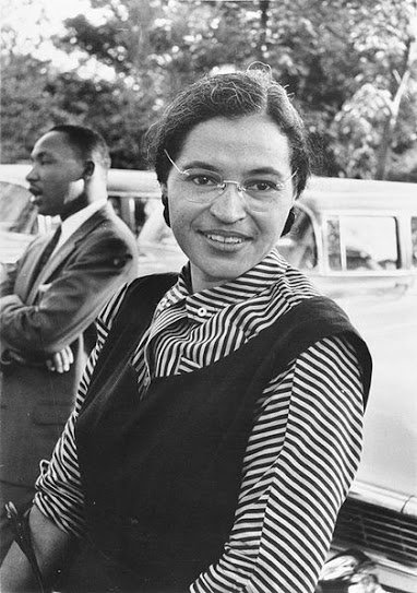 martin luther king jr and rosa parks