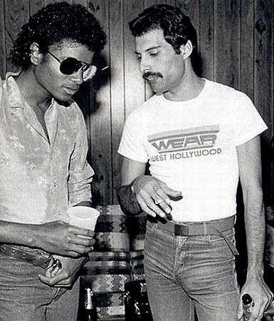 michael jackson and fred mercury