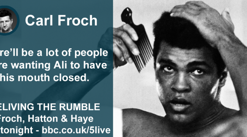 mohamed ali with comb