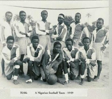 nigeria football team 1949