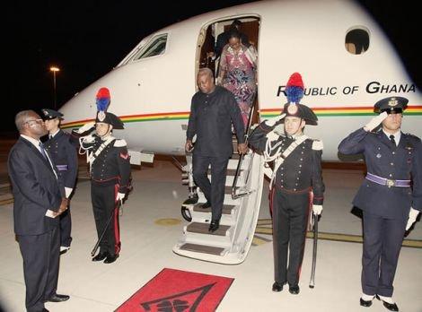 president mahama at the vatican1