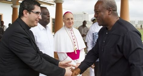 president mahama at the vatican2
