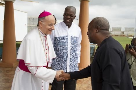 president mahama at the vatican3