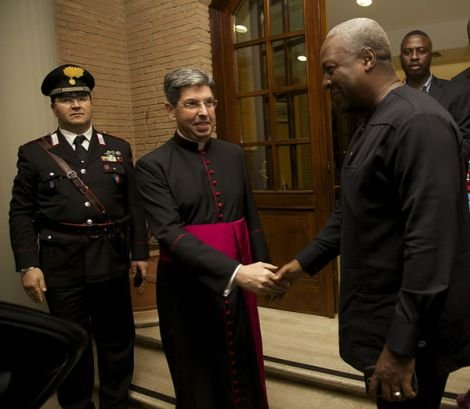 president mahama at the vatican4