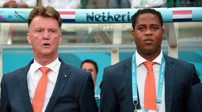 ptrick kluivert and van gaal