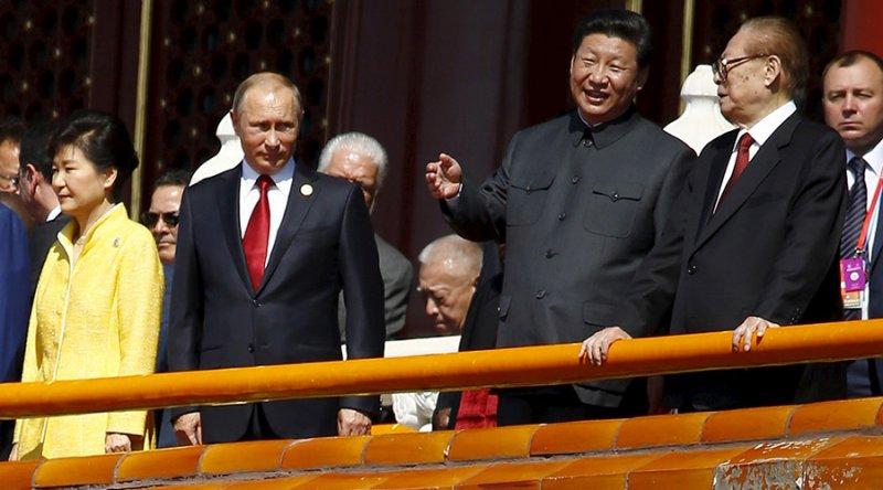 putin and chinese leader