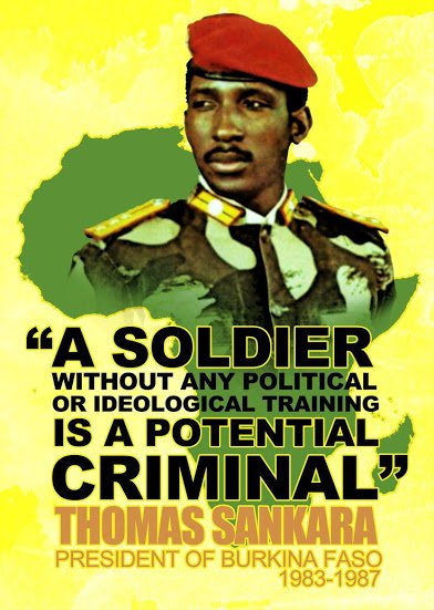 sankara on ideological soldiers