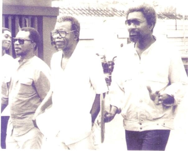 soyinka vlarke n achebe on a mission to save vatsa life
