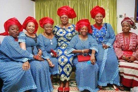 sunny ade wives