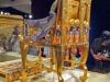 Golden Chair From Tuts exhibit...