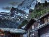 Matterhorn from Zermatt, Switzerland.