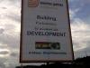 brazilian company billboard in kasoa