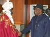 emir of kano sanusi and jonathan