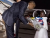 obama with a young kenya florist