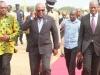president mahama on trip