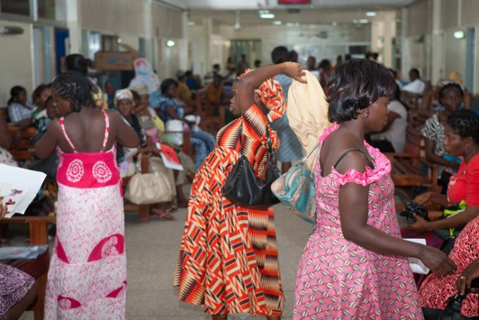 women at kaneshie