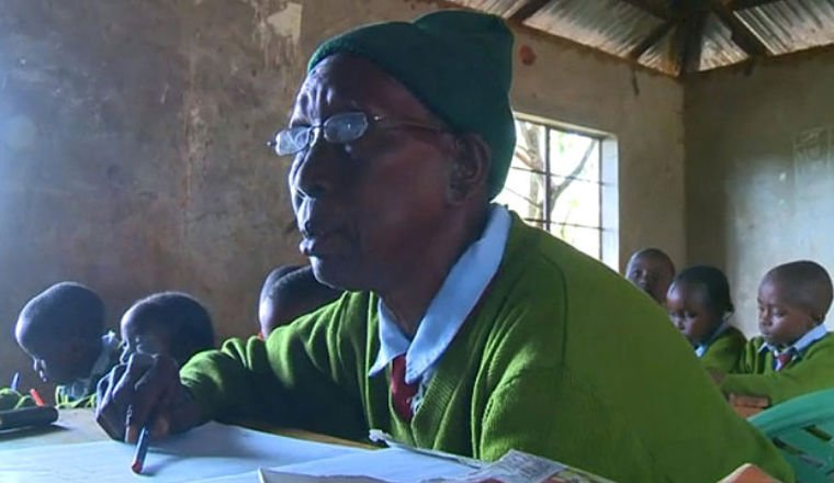 world oldest student in kenya