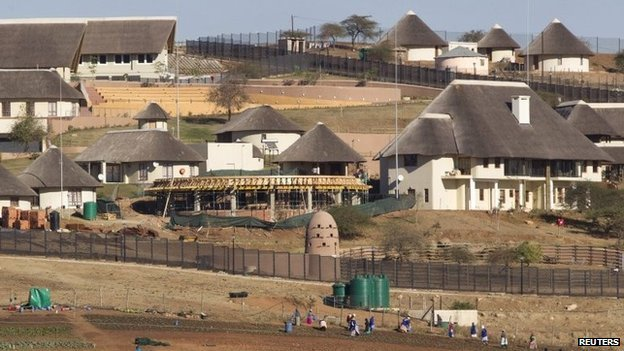 zuma nkandla mansion