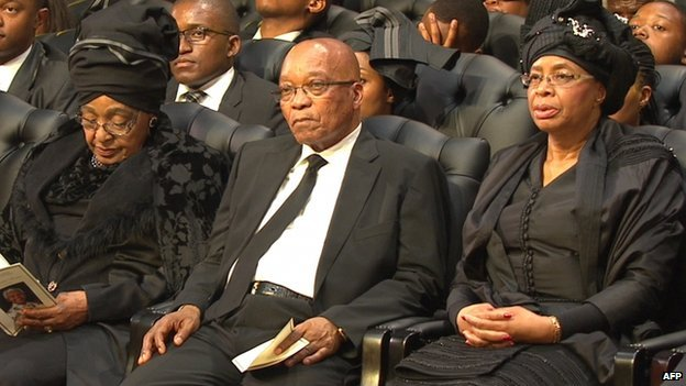 zuma with winnie and gracia