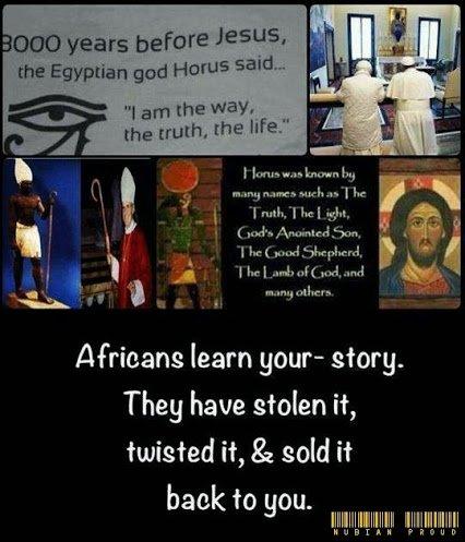 african god horus say i am the way