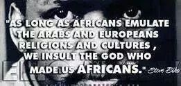 africans emulating arabs and europeans