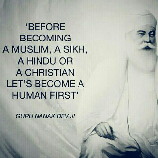 become a human first