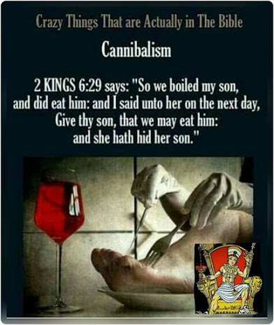 canibalism in the bible