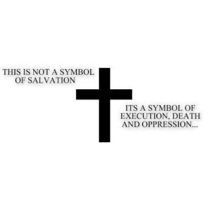 cross is a symbol of execution