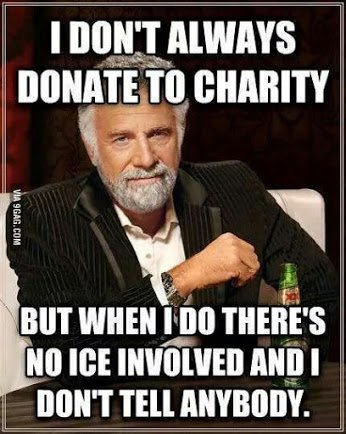 donation wtout ice