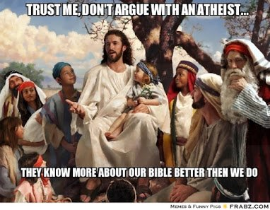 dont argue with atheits