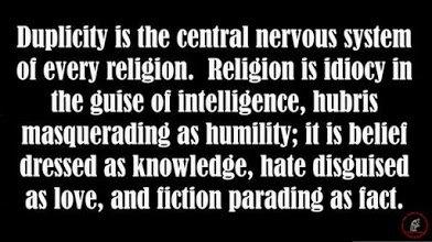 duplicity in religion
