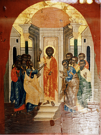 earliest known pic of jesus at teh coptic museum in caira