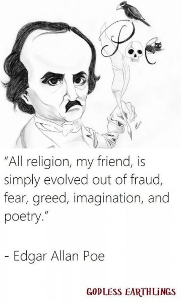 every religion evolved from fraud