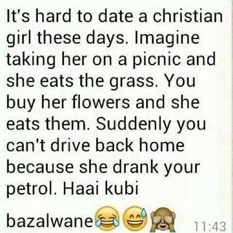hard to date christian girls nowadays