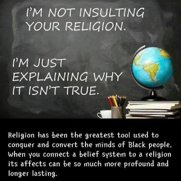 i am not insulting your religion