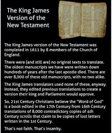 king james version of the bible