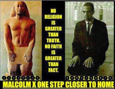 malcolm x no  religion is greater than the truth