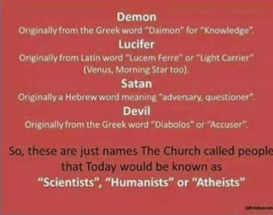 meaning of satan devil