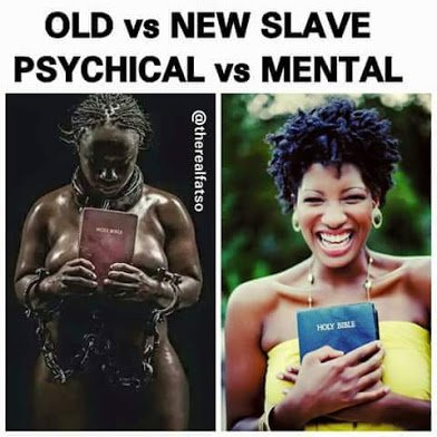 old and new slave