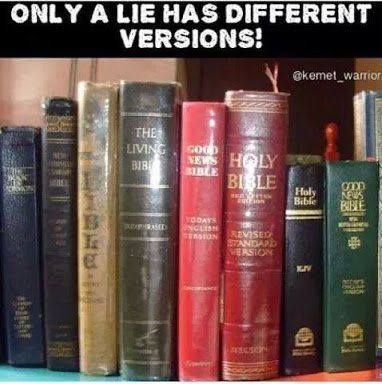 only a lie has different versions