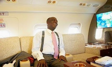 oyedepo in his jet