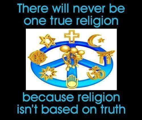 religion is not based on truth