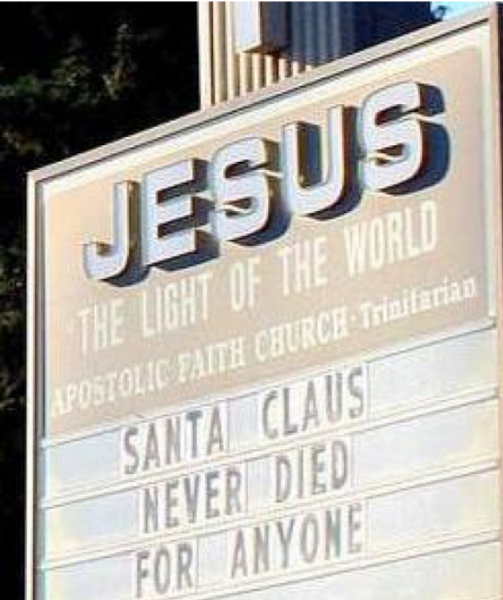 santa claus never die for anyone