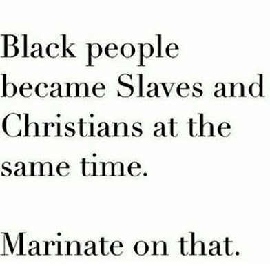 slaves and christian at the same time