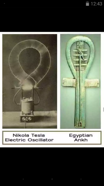 the ankh and electric oscillator