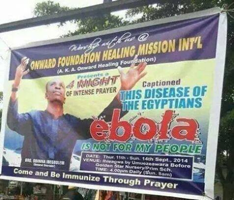 the disease of the egyptians ebola