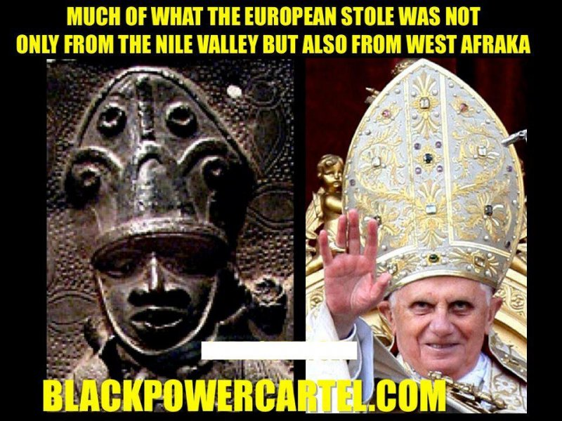 the pope cap was afrikan