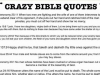 crazy bible quotes
