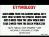 god etymology