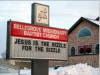jesus is the rizzle for the sizzzle